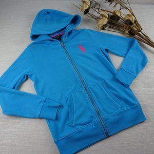 🧁3/$30 Ralph Lauren Pony Girls Hoodie Sweater XL